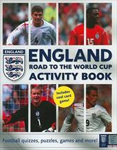 England Road to the World Cup Activity Book 108048