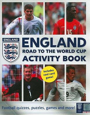 England Road to the World Cup Activity Book