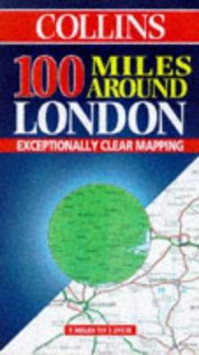 Great Britain: London, 100 Miles Around
