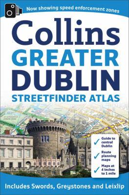 Greater Dublin Streetfinder Atlas