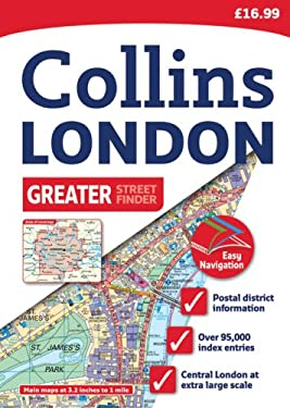 Collins Greater London Streetfinder