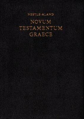 Greek-Scholarly New Testament
