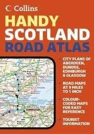 Handy Road Atlas Scotland: A5 Edition