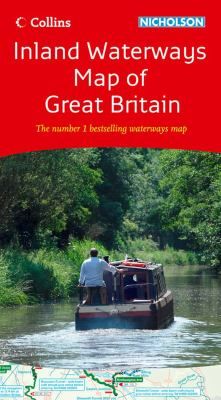 Inland Waterways Map of Great Britain 9780007452644