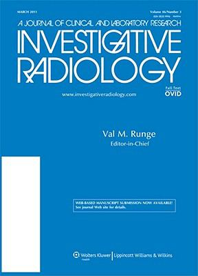 Investigative Radiology: A Journal of Clinical and Laboratory Research
