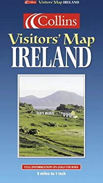 Ireland: Ireland Visitors Map 9780004488639