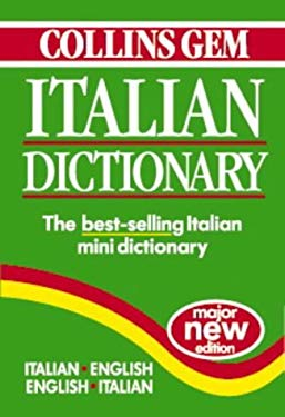 Italian Dictionary: Italian-English, English-Italian 9780004707464