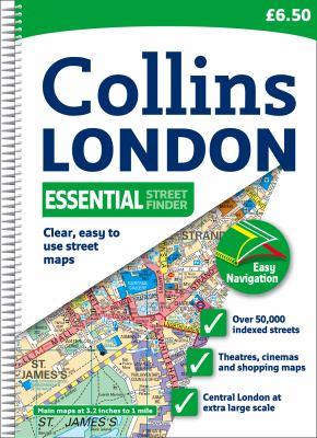 Collins London Essential Street Finder