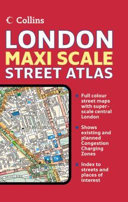 Collins London Maxi Scale Street Atlas