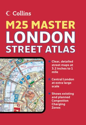 M25 Master London Street Atlas