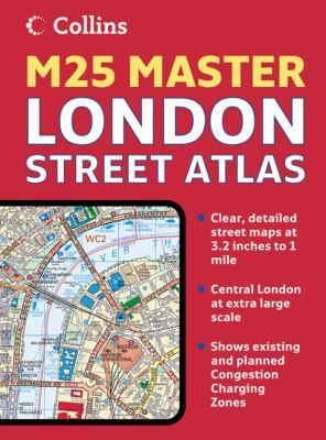 Collins London M25 Master Street Atlas