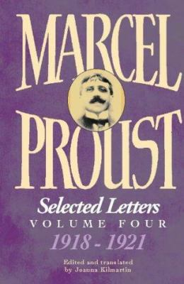 Marcel Proust: Selected Letters