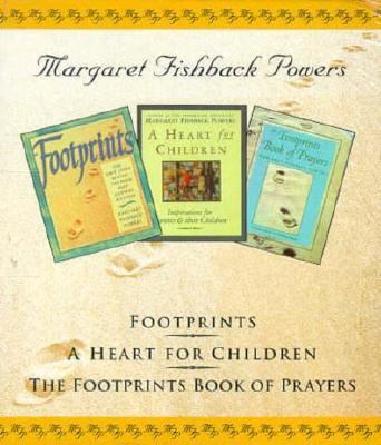 Margaret Fishback Powers-3 Vol. Boxed Gift Set: Footprints, a Heart for Children, Footprints...