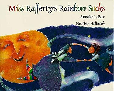 Miss Rafferty's Rainbow Socks