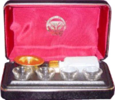 Portable Communion Set: With 4 Cups