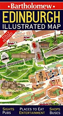 Scotland: Edinburgh Illustrated Map