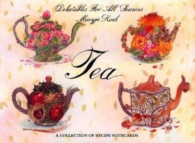 Tea: Delectables Notecards