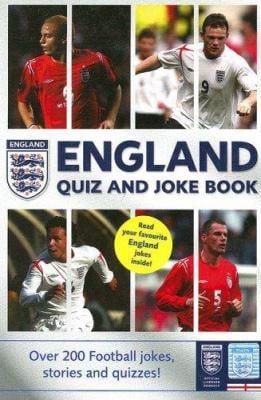 The England Team Quiz and Joke Book