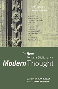The New Fontana Dictionary of Modern Thought