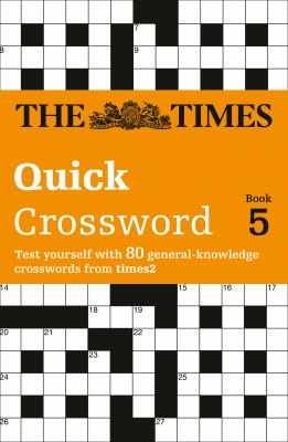 The Times T2 Crossword Book 5: The Best General Crossword in the World