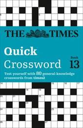 times2 Crossword, Book 13