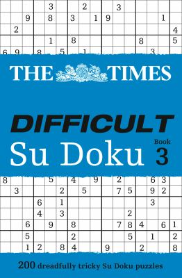 The Times Difficult Sudoku 9780007319701