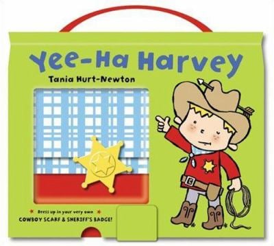 Yee-Ha Harvey [With Cowboy Scarf & Sheriff's Badge]