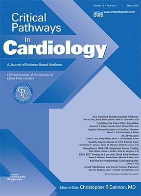 Critical Pathways in Cardiology: A Journal of Evidence-Based Medicine