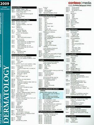 ICD-9-CM Compact Coder: Dermatology
