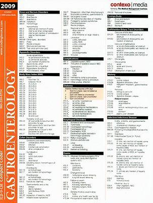 ICD-9-CM Compact Coder: Gastroenterology