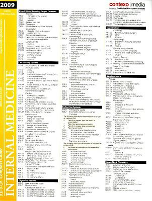 ICD-9-CM Compact Coder: Internal Medicine