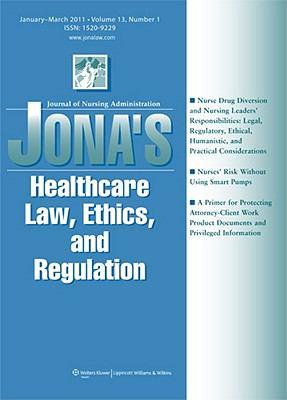 Jona's Healthcare Law, Ethics, and Regulation