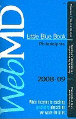 WebMD Little Blue Book Philadelphia