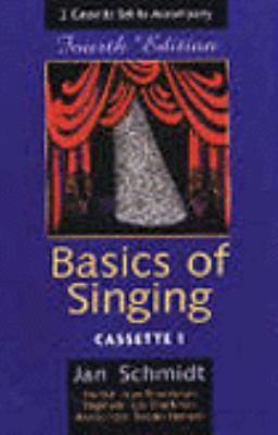 2 75-Minute Cassette Set for Schmidt's Basics of Singing, 4th