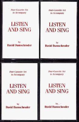 4-Cassette Set for Damschroder's Listen and Sing