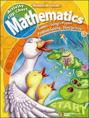 Math Connects, Kindergarten, Activity Flip Chart