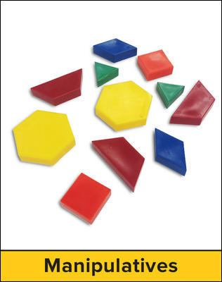 Individual Manipulative Kit: Mathematics, Grades 3-5 [With Dice and Clock, Ruler, Foam Shapes, Play Coins and Compass]
