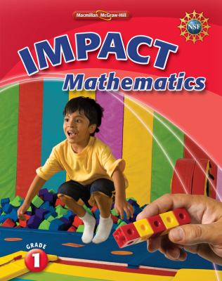 Math Connects, Grade 1, Impact Mathematics, Student Edition