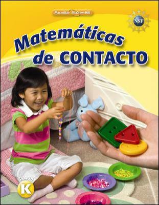 Math Connects, Kindergarten, Spanish Impact Mathematics, Student Edition