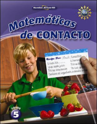 Math Connects, Grade 5, Spanish Impact Mathematics, Student Edition