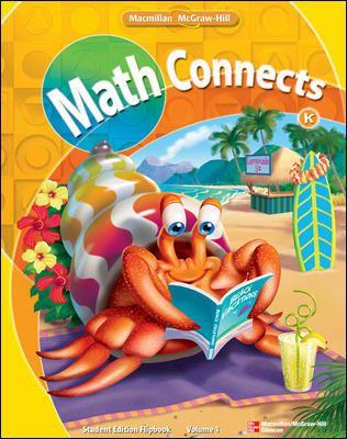 Math Connects: Kindergarten, Student Edition Flip Book, Volume 1