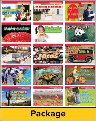 Math Connects, Grade 1, Real-World Problem Solving Readers Deluxe Package (Spanish)