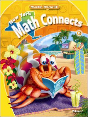 New York Math Connects, Kindergarten, Volume 2
