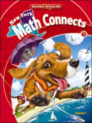 NY Math Connects, Grade 1, Consumable Student Edition, Volume 1
