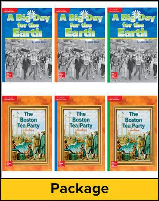 Timelinks: Classroom Sets, Grade 3, Leveled Reader Places & Events Deluxe Set (6 Each of 15 Titles)