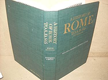 A History of Rome to A.D. 565 - 6th Edition