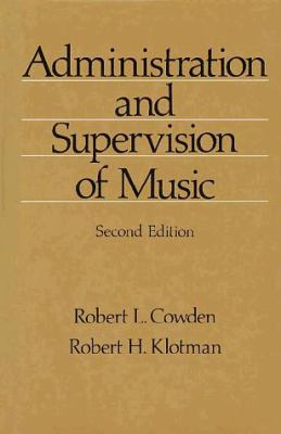 Administration & Supervision of Music