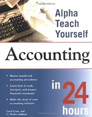 Alpha Teach Yourself Accounting in 24 Hours 9780028641584