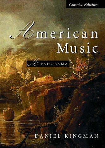 American Music: A Panorama