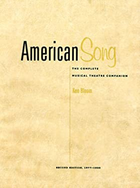 American Song: The Complete Musical Theatre Companion